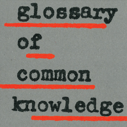 Glossary of Common…